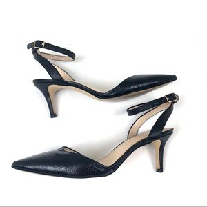 Banana Republic size 6.5 Black Low Heels